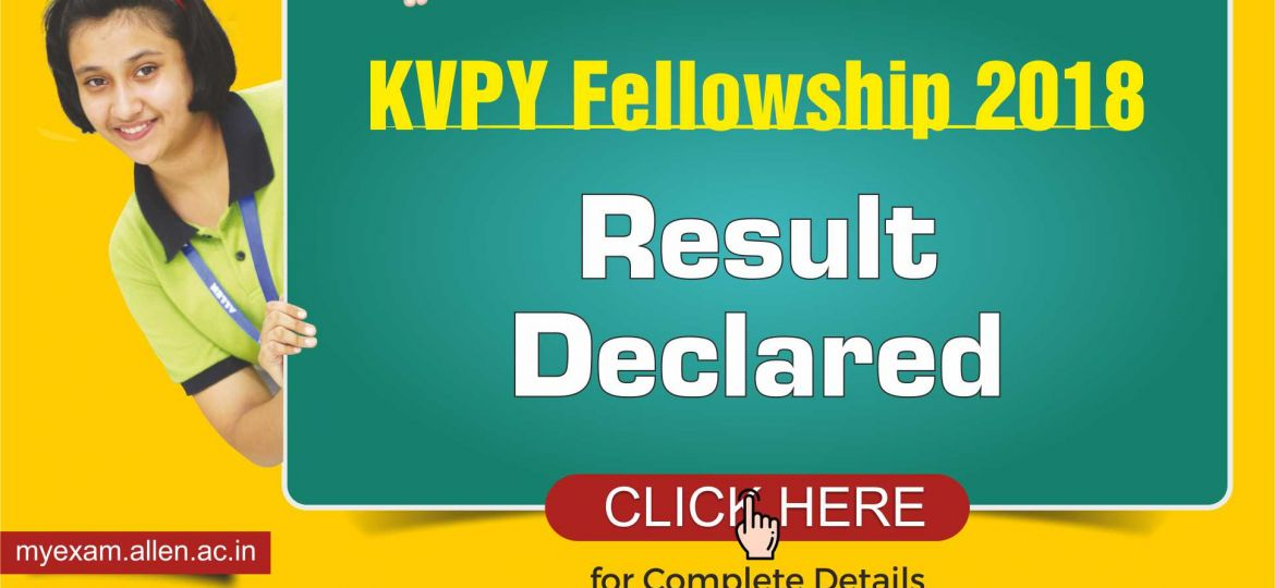 KVPY Fellowship Result Declared_ Blog Post