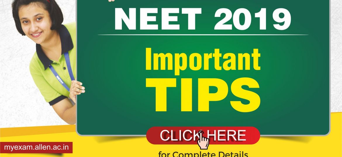 NEET 2019 Important Tips_Blog Post