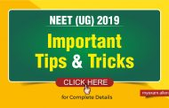 Last minute Important tips for NEET 2019 (Chemistry, Biology, Physics) – Important topics, Tricks, Books to refer