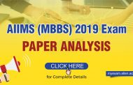 AIIMS (MBBS) 2019 : Paper Analysis by ALLEN Experts. Physics and Biology was a bit tricky, Chemistry was easy