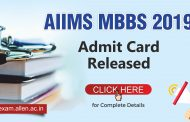 AIIMS MBBS 2019 Admit Card Released: Check how to download