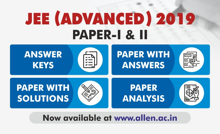 JEE Adanced 2019 Answer Key by ALLEN