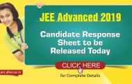 JEE Advanced 2019: Candidate response sheet to be released today