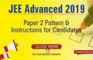 JEE Advanced 2019 Paper 2 Pattern & Instructions for Candidates