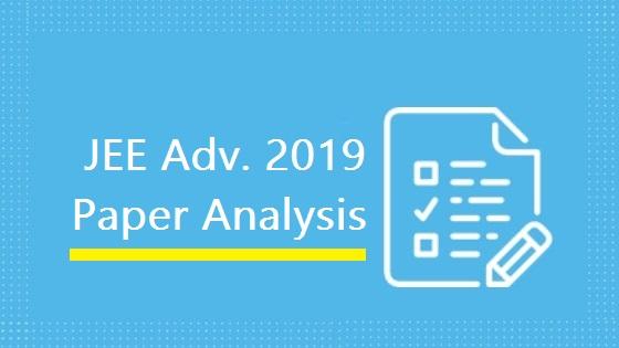 jee adv 2019 paper analysis