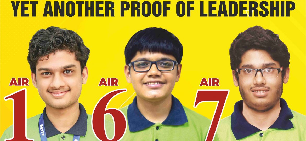 IIT-JEE Poster AIR-1 - 6- 7_English