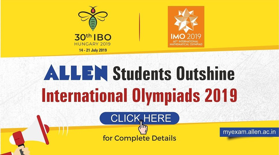 IBO & IMO 2019 Result | ALLEN Career Institute