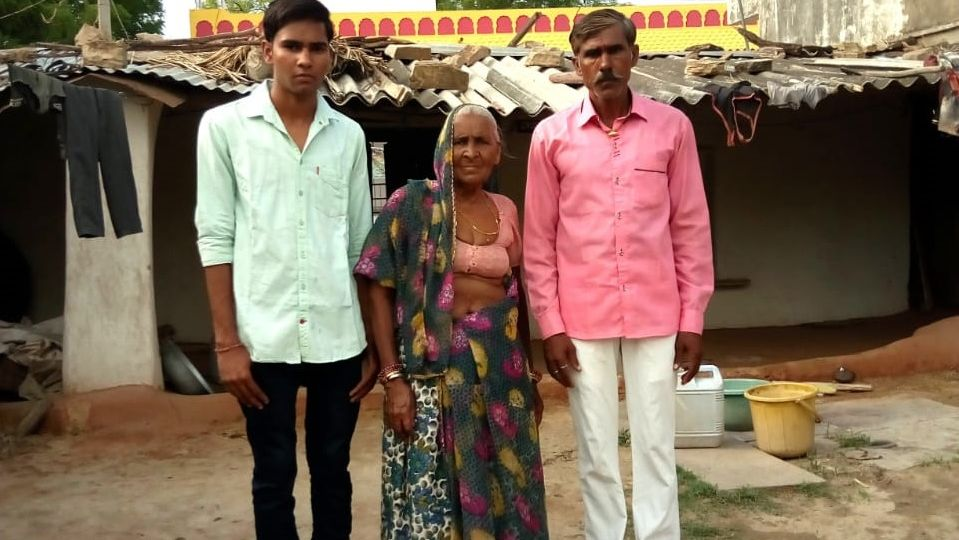 Vikram, NREGA worker's son to Become Doctor