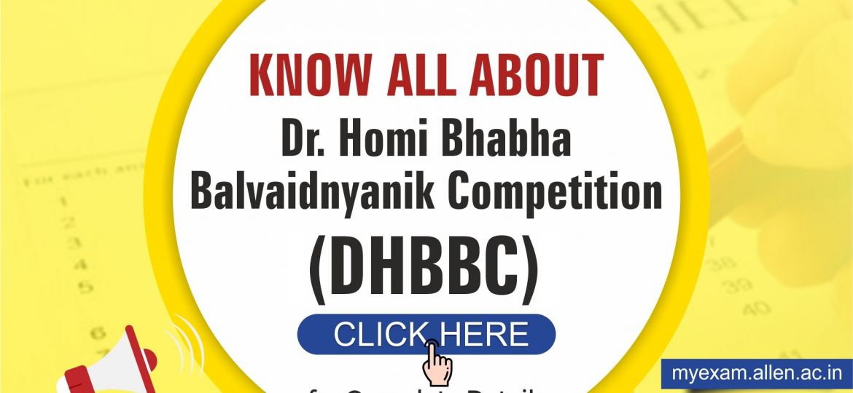 Dr. Homi Bhabha Balvaidnyanik Competition Scholarships