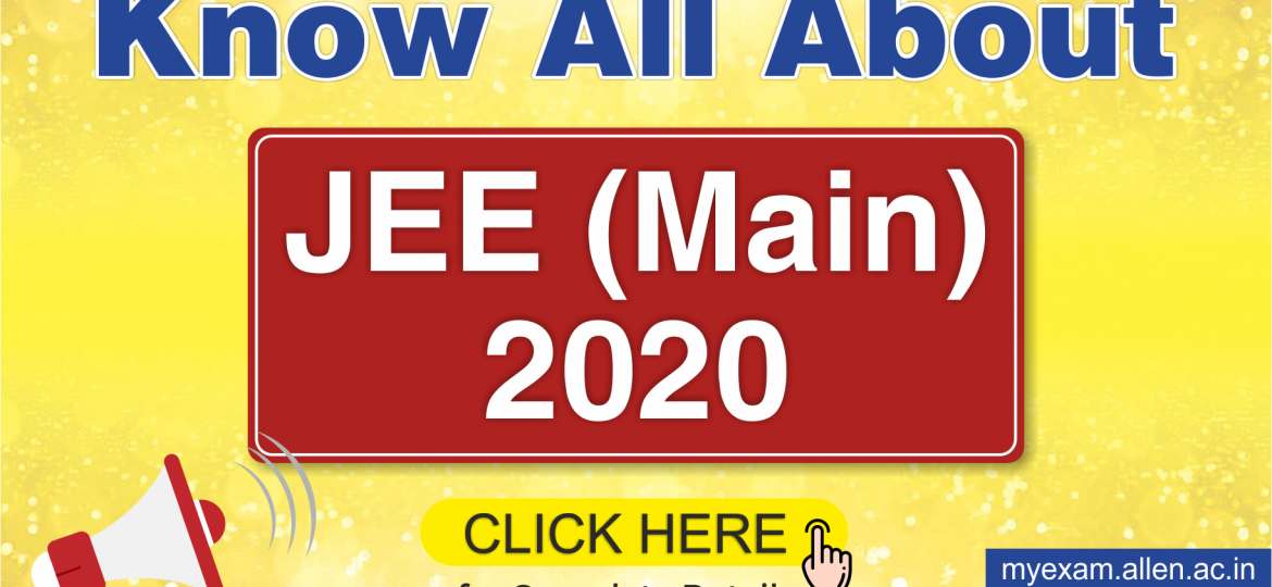 JEE Main 2020 Blog Post
