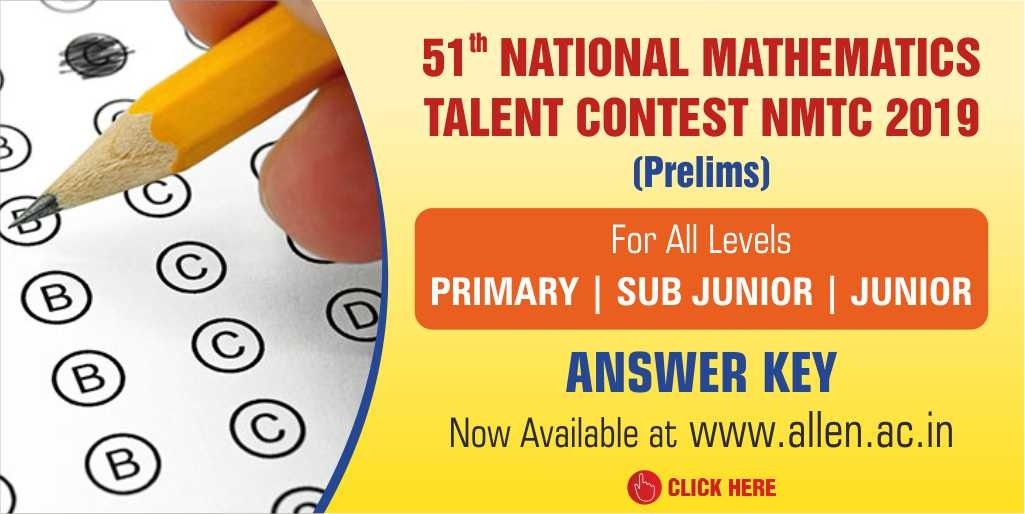nmtc 2019 answer key