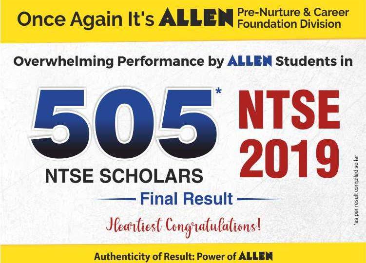 ALLEN NTSE Stage 2