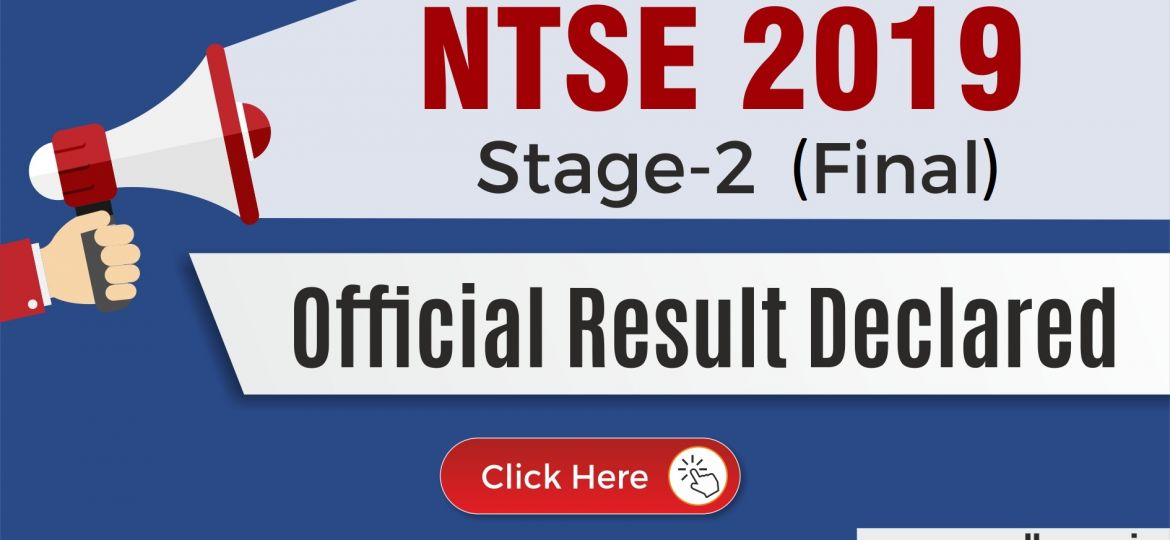 NTSE 2019 Stage 2 final result