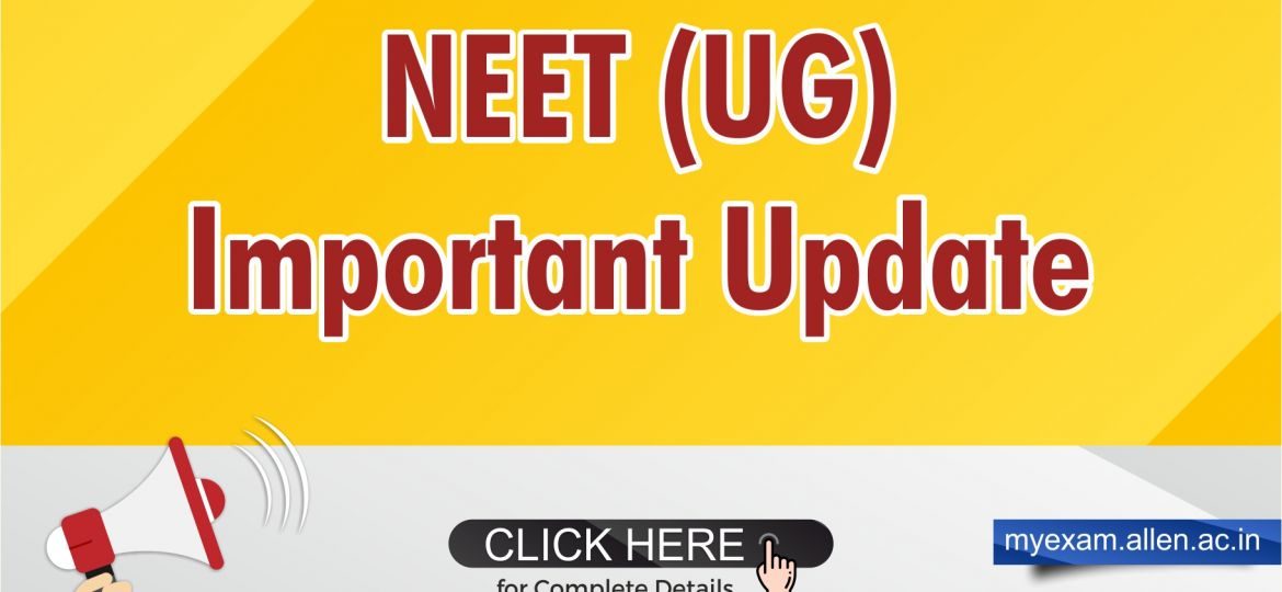 NEET Update 2019 Blog Post