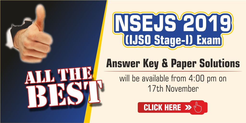 ijso nsejs 2019 answer key and slider
