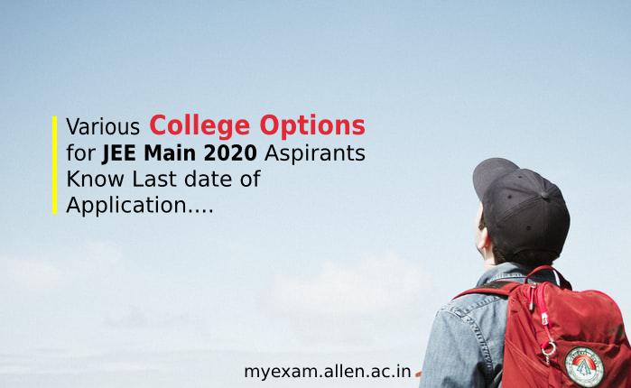 college options for jee main aspirants