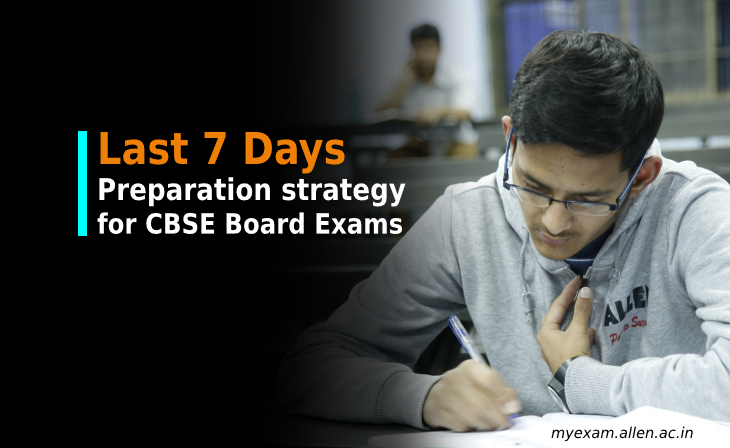 last seven 7day study plan for cbse 10th board