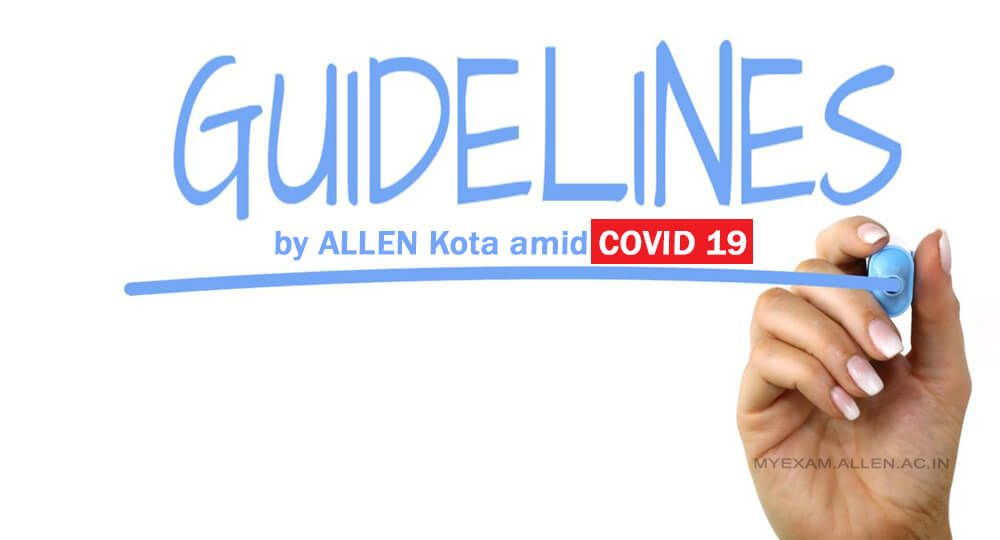 Guidelines for students corona covid 19