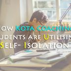 kota coaching students during self isolation