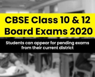 CBSE Class 10 & 12 Exam Update
