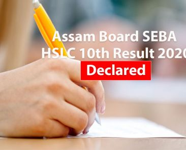 Assam Board SEBA HSLC 10th Result 2020