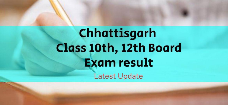 Chhattisgarh board result