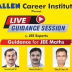 Live Guidance session for jee maths