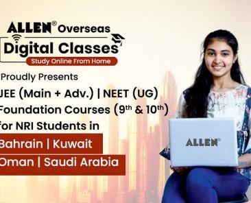 allen overseas online classes
