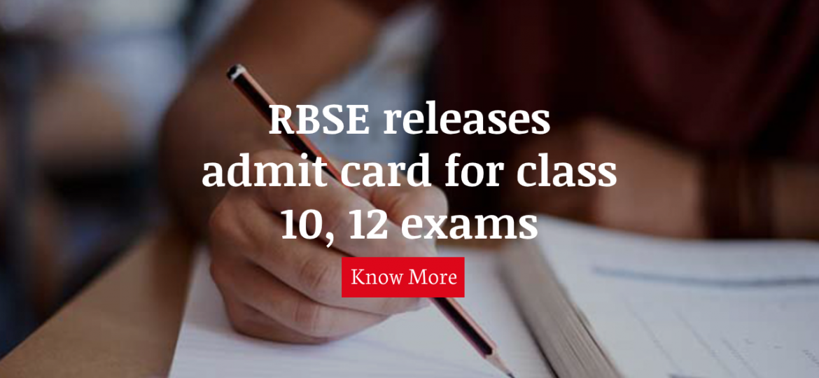 rbse exam dates 10 and 12