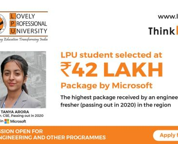 Rs. 42 Lakh Placement