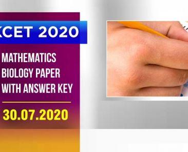 kcet-2020-answer keys