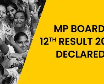 mp board result 2020