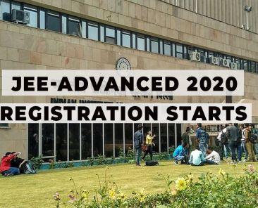 JEE-Advanced 2020 registration
