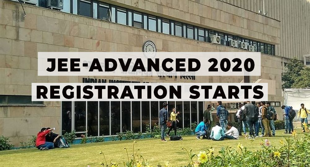JEE-Advanced 2020 registration