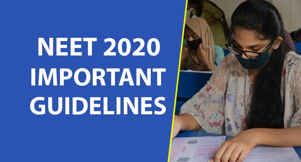 neet 2020 guidelines