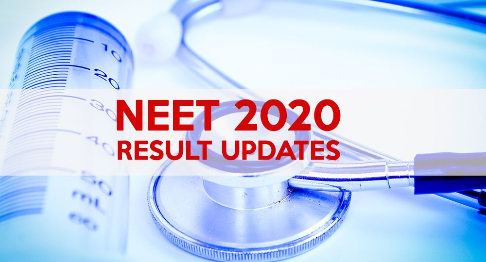 neet 2020 result update