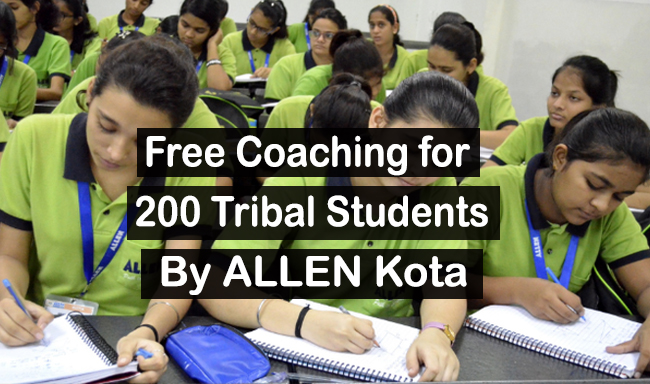 Free Coaching of 200 Tribal Students