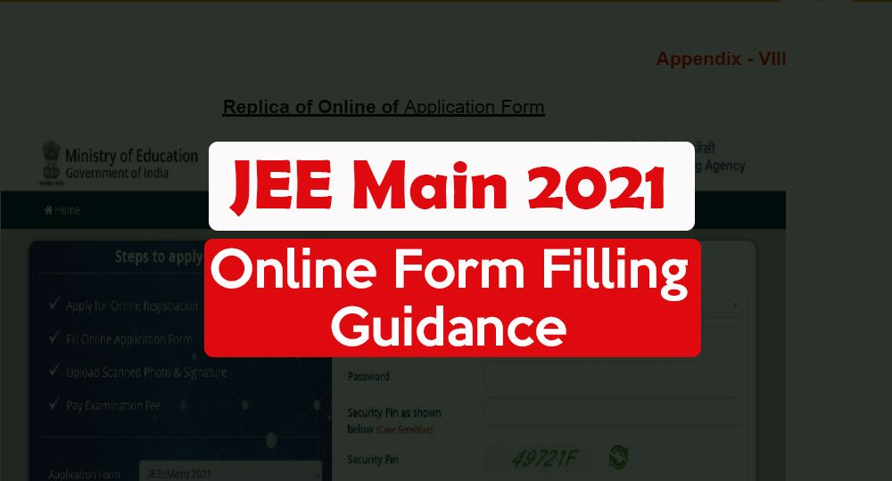 jee main form filling guidance