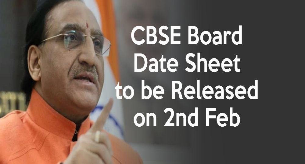 cbse board exam datesheet