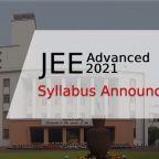 JEE Advanced 2021 Syllabus