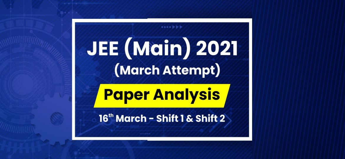 jee main analysis 16 march