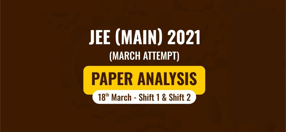 jee main analysis 18 march