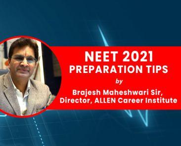 NEET 2021 tips by Brajesh Sir ALLEN