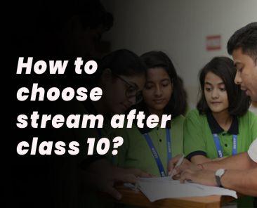 choose streaam after 10 class