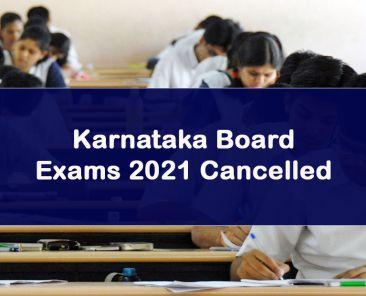 Karnataka Board exams 2021