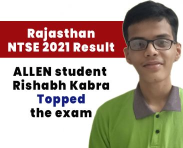 NTSE 2021 result allen