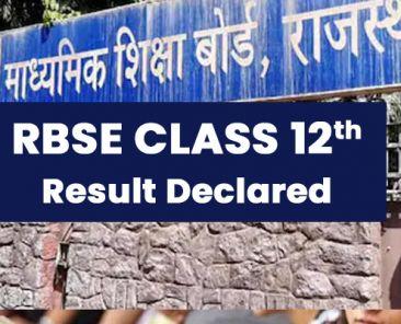 Class 12th Board Examination Result