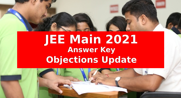jee main 2021 objections