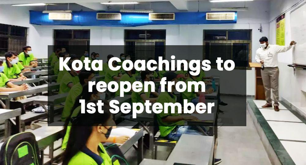 kota coaching reopens