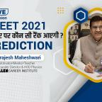neet 2021 marks vs rank prediction